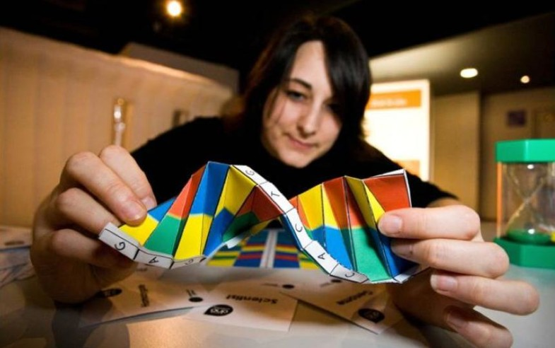 DNA Origami  by Alex Bateman, by Duncan Hull via flickr (CC BY 2.0)
