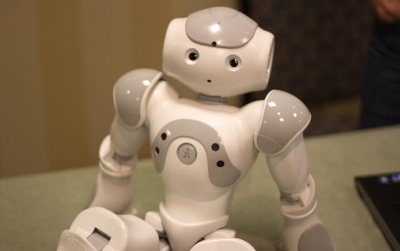 NAO the humanoid robot. Image credit: Jiuguang Wang via Flickr (CC by 2.0 license)